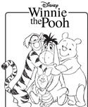 Winnie the Pooh Color Pages