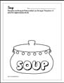 Stone Soup worksheet