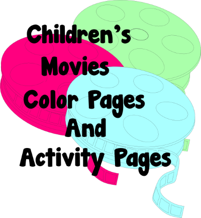 A to Z Kids Stuff | Children\'s Movies Color Pages and Activity Pages