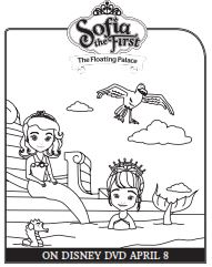sofia the first color pages - Coloring Activity Pages