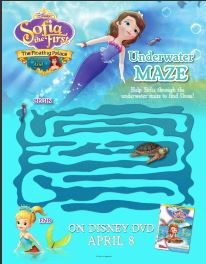 A to Z Kids Stuff Sofia the FirstThe Floating Palace Color and
