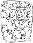 Veggie Tales Easter Color Pages