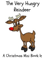 Free Reindeer Mini Book