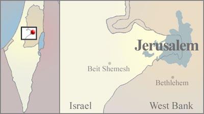 A To Z Kids Stuff Jerusalem - Where is jerusalem located