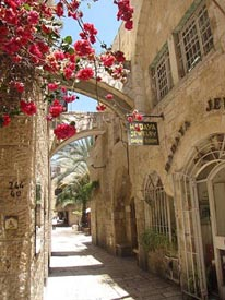 Old City Jerusalem - Jewish Quarter