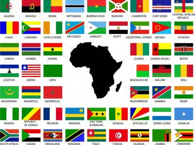 A To Z Kids Stuff Africa - Map of africa for kids