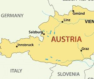 A To Z Kids Stuff Austria - Austria climate map