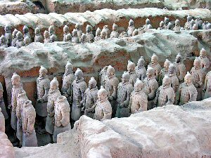 China Terra Cotta Army Figures