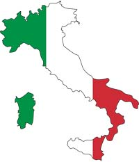 Map Of Italy For Children.A To Z Kids Stuff Italy