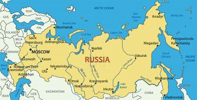 Map Of Russia For Kids.A To Z Kids Stuff Russia Facts For Children