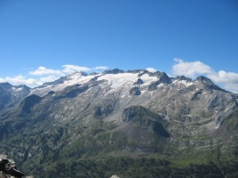 Pico del Aneto, the highest mountain of the Pyrenees
