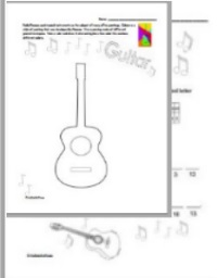 guitar cubism decoder worksheet
