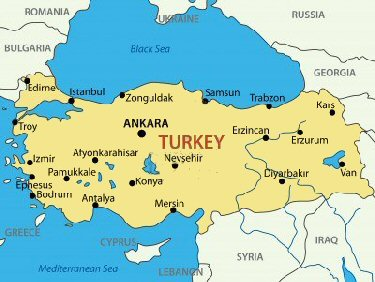 Map Of Europe And Turkey.Turkey Facts For Children A To Z Kids Stuff