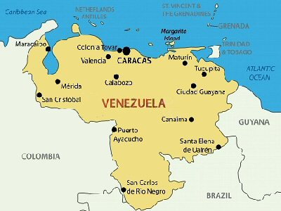 A to z kids stuff venezuela venezuela is located on the northern coast of south america gumiabroncs Gallery