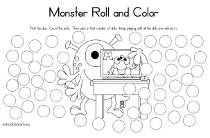 Monster Roll Count Color
