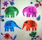 Elephant Foil Craft
