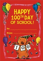 100th Day Mini Books