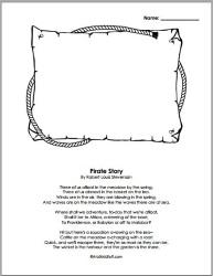 A to Z Kids Stuff | Pirate Education Theme