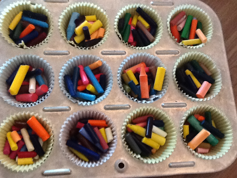 Watch How to Reuse Broken Crayons video