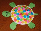 turtle paper plate craft