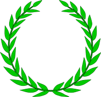 Olympics Laurel Wreath