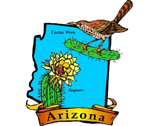 arizona state symbols