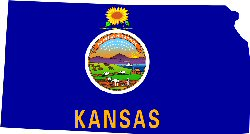 Kansas facts for children a to z kids stuff for Kansas flag coloring page