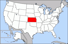 Kansas Location On The US Map Kansas State Information Symbols