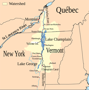 Lake Champlain Vermont Facts For Kids