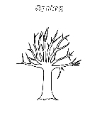 Spring tree worksheet